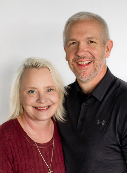 Chiropractor Olympia WA Dr Mitchell Derrick With Wife